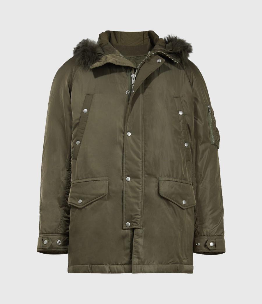 Mens Tarling Parka Coat (army_green) - Image 5
