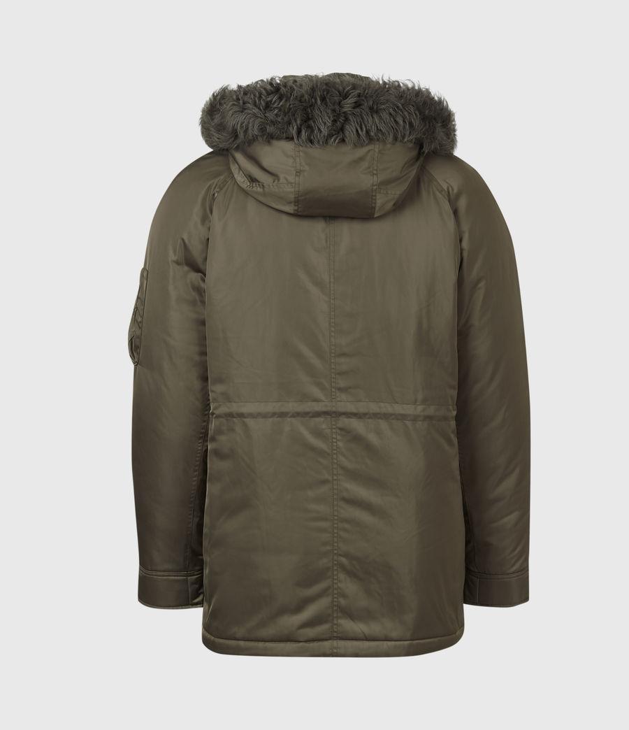 Mens Tarling Parka Coat (army_green) - Image 6