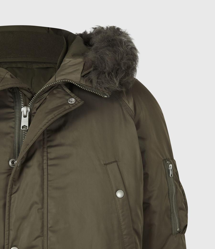 Mens Tarling Parka Coat (army_green) - Image 7