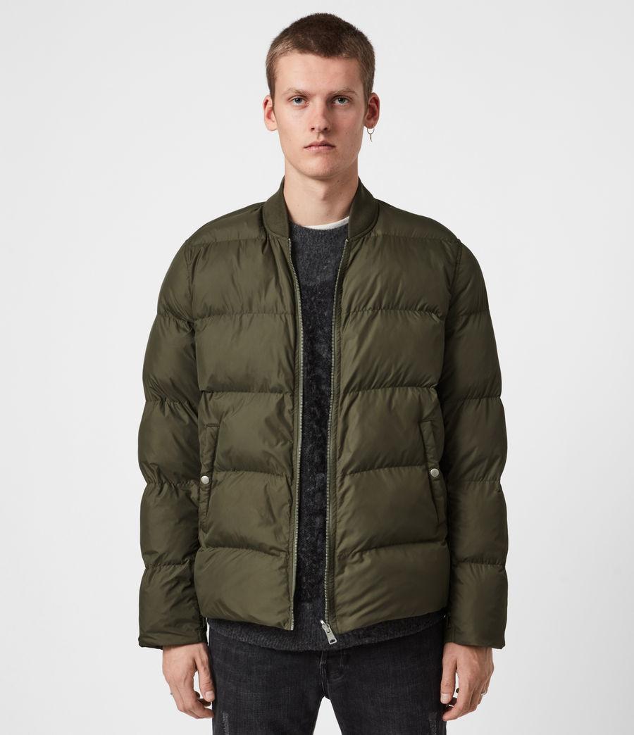 Mens Tarling Parka Coat (army_green) - Image 8