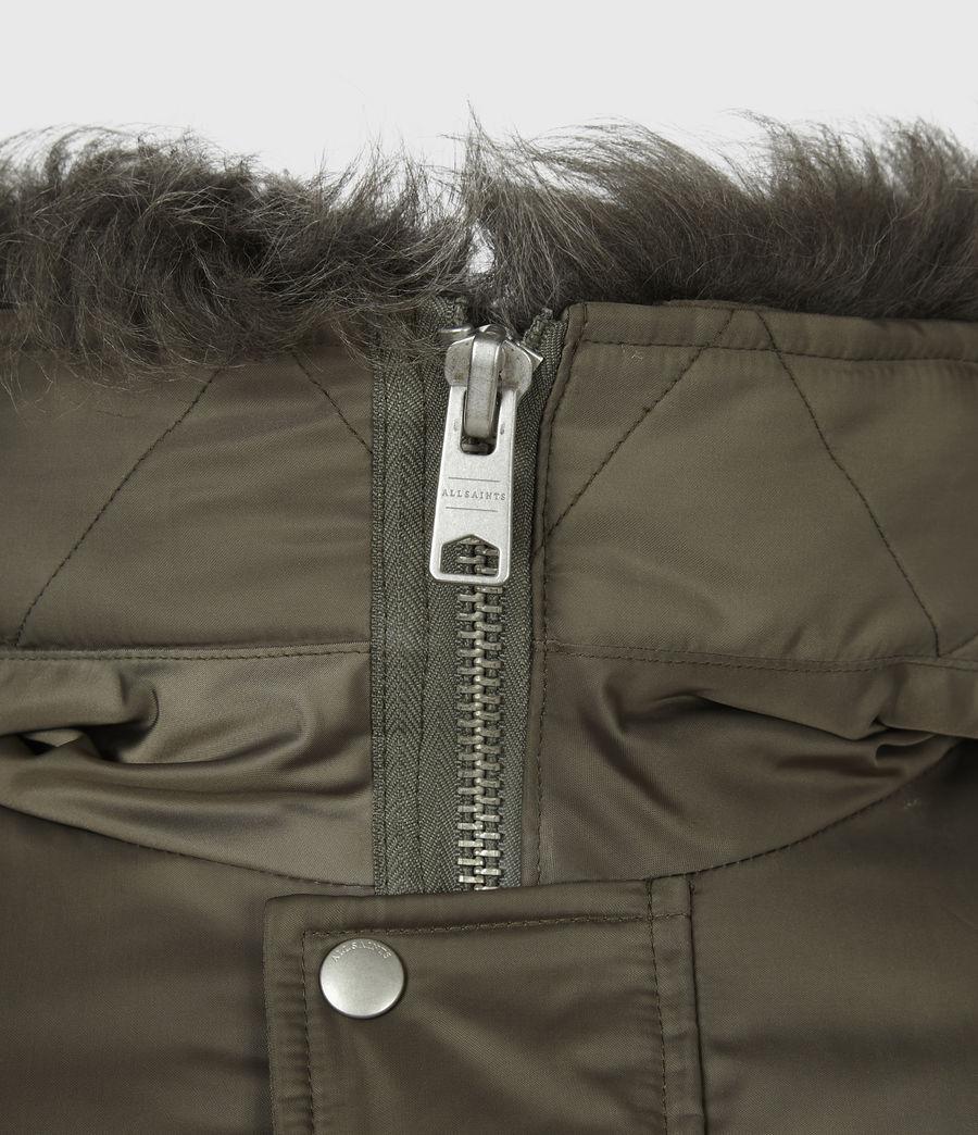 Men's Tarling Parka Coat (army_green) - Image 9