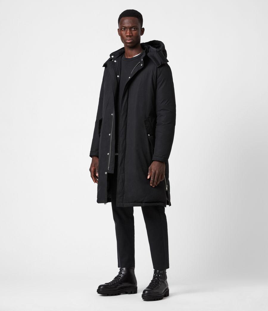Mens Elm Parka Coat (black) - Image 1