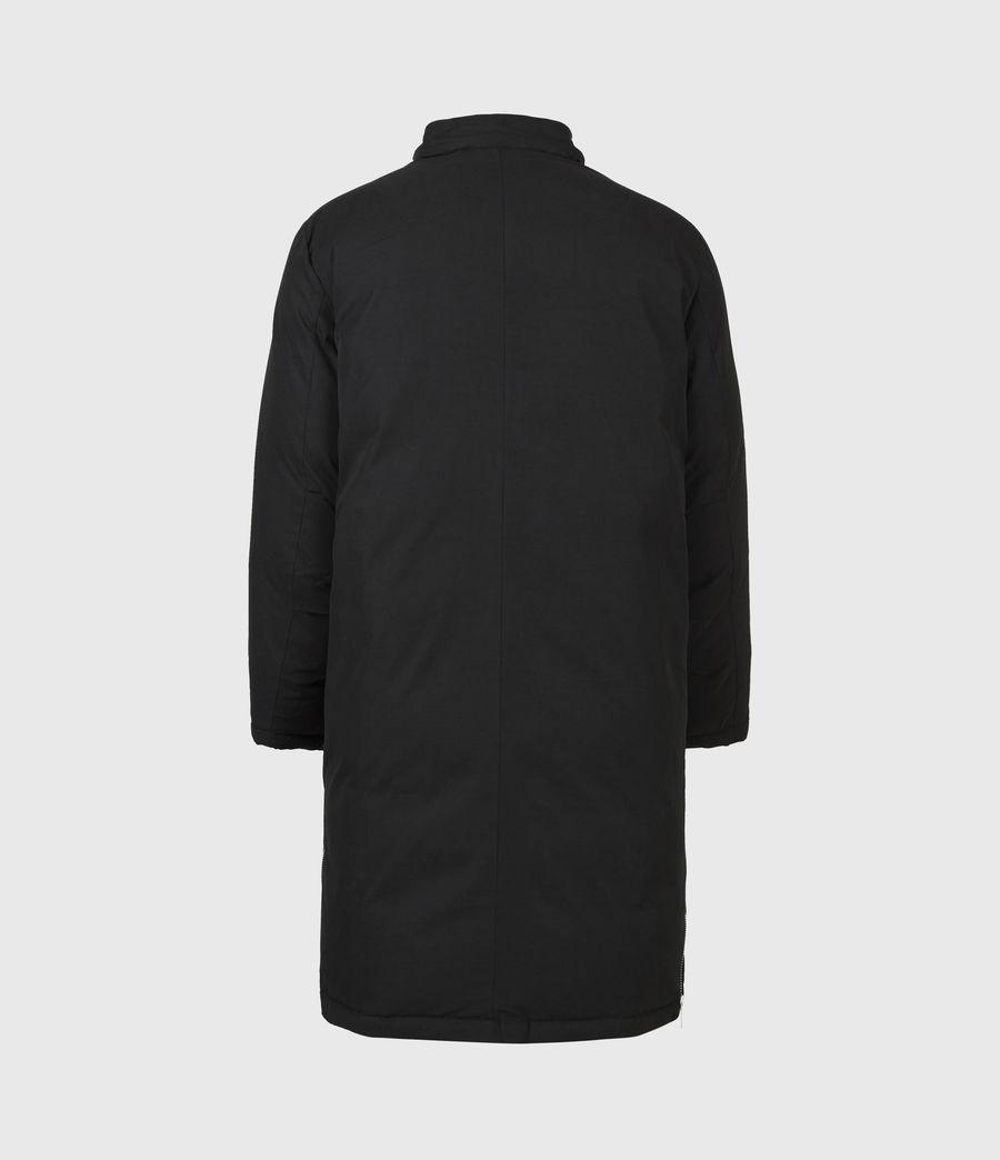Mens Elm Parka Coat (black) - Image 3