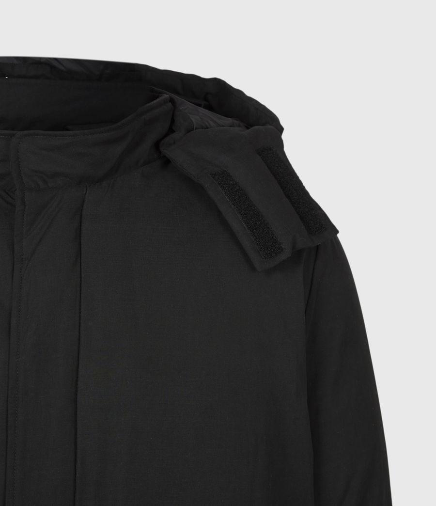 Mens Elm Parka Coat (black) - Image 6