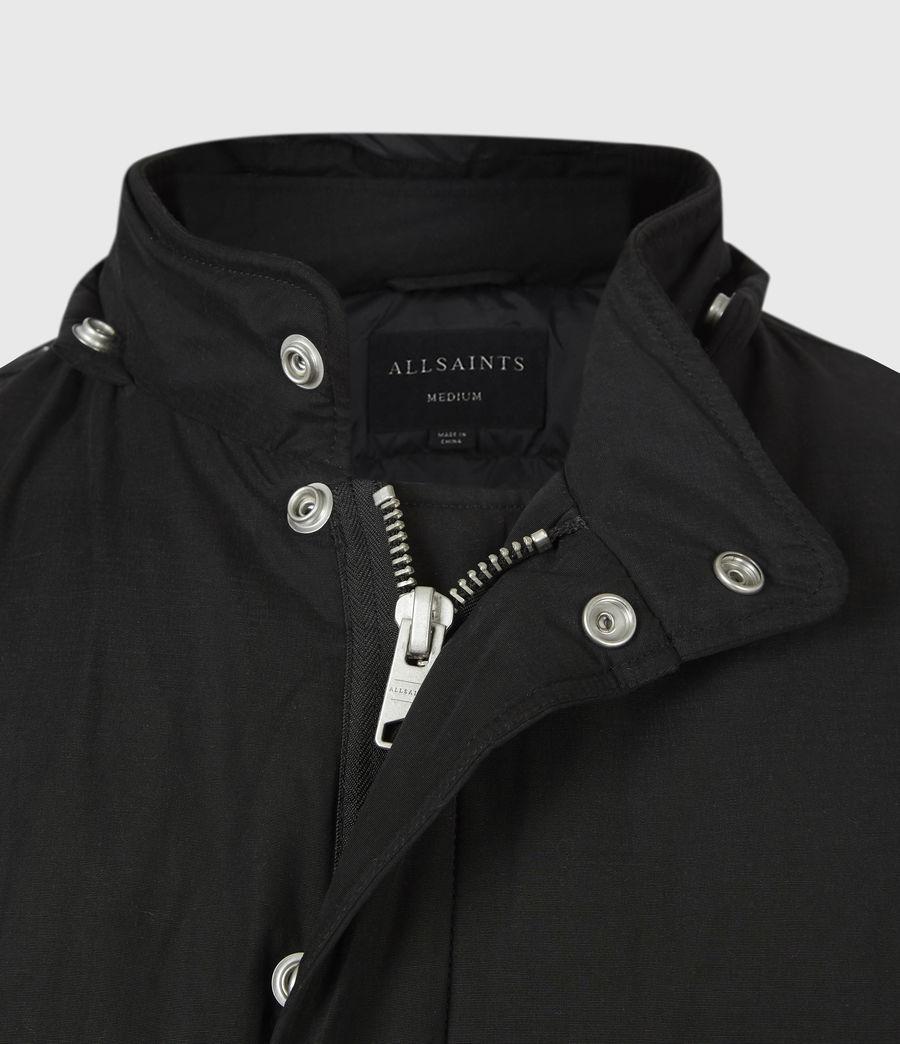 Mens Elm Parka Coat (black) - Image 7