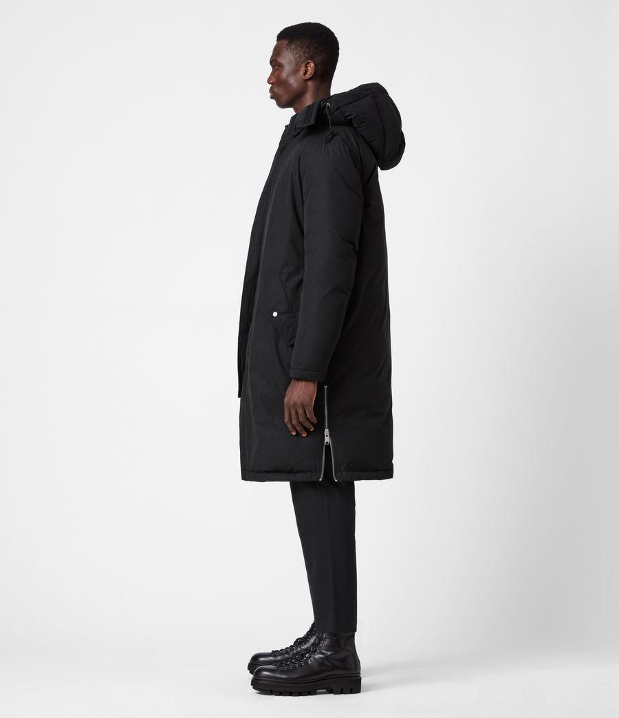 Mens Elm Parka Coat (black) - Image 8