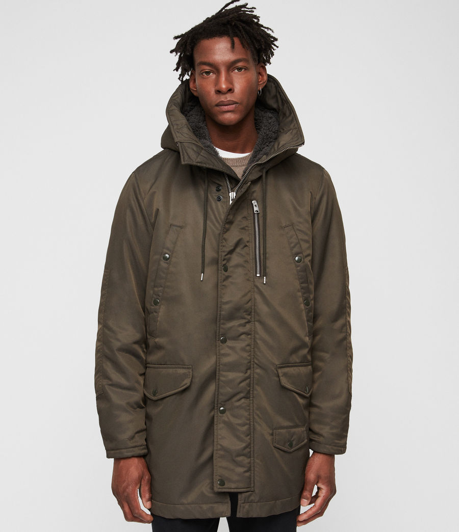 Men's Garth Parka (khaki_brown) - Image 1