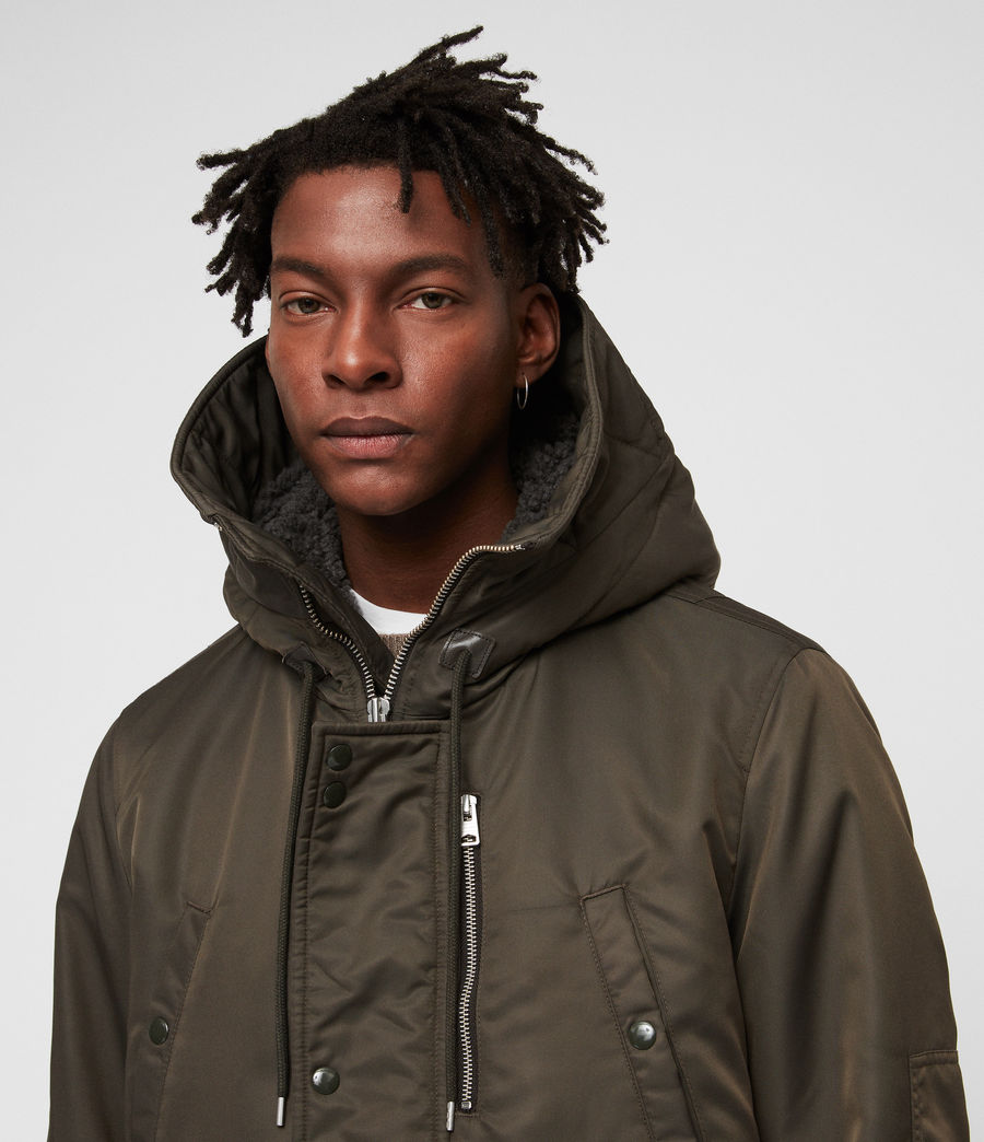 Men's Garth Parka (khaki_brown) - Image 2