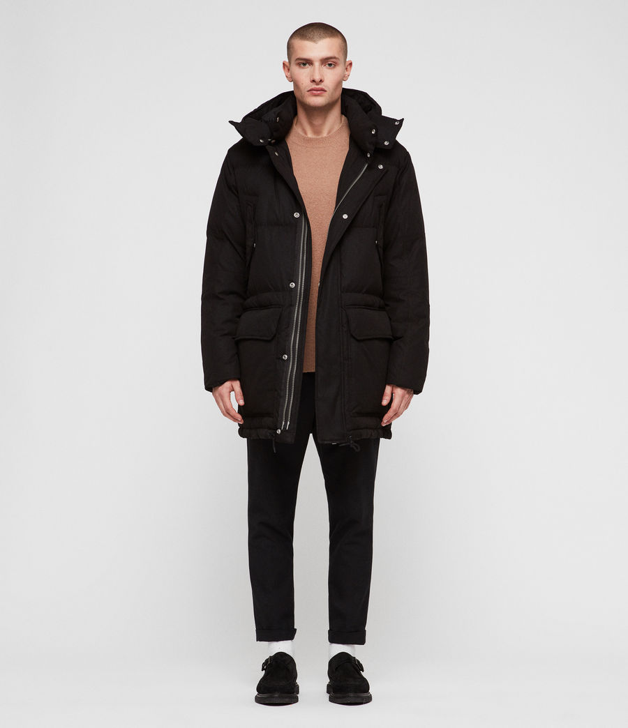 Men's Sergio Parka (black) - Image 1