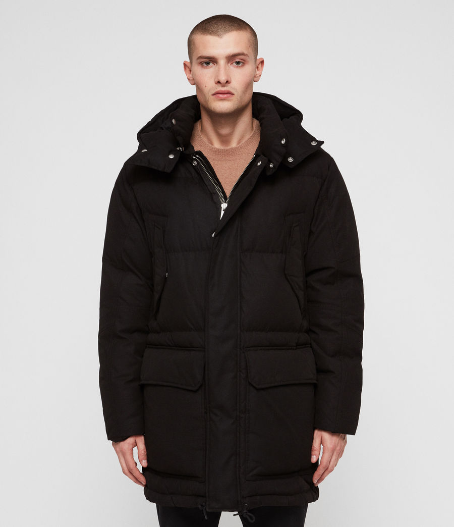 Men's Sergio Parka (black) - Image 2