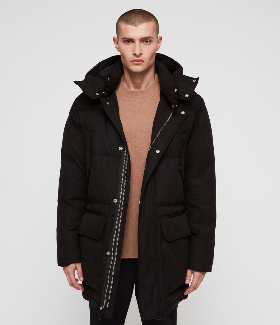 Men's Sergio Parka (black) - Image 3