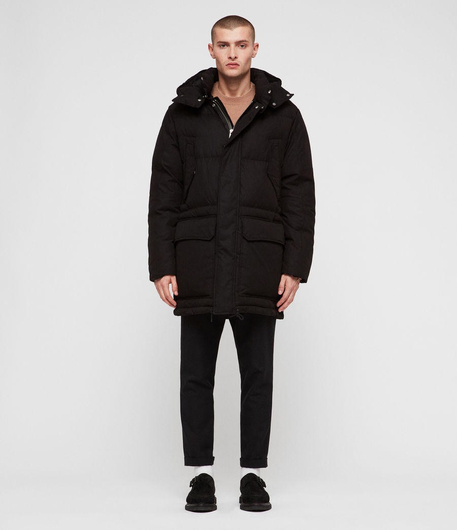 Men's Sergio Parka (black) - Image 4