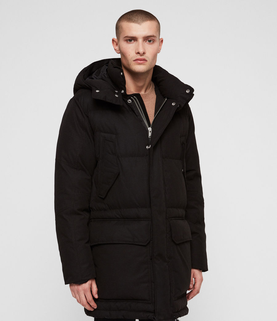 Men's Sergio Parka (black) - Image 5