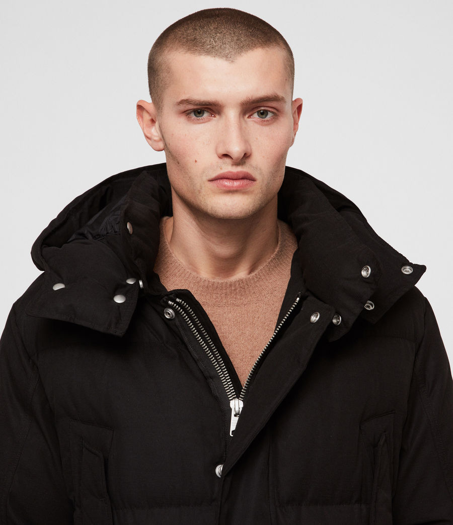 Men's Sergio Parka (black) - Image 6
