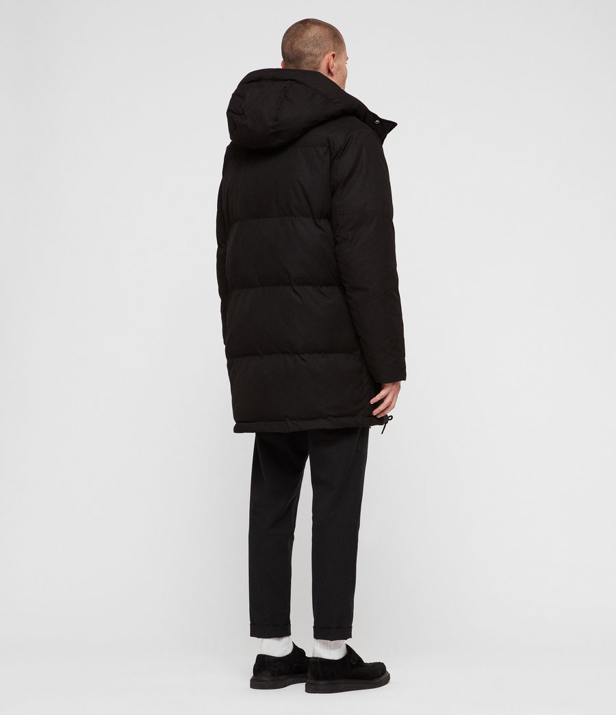 Men's Sergio Parka (black) - Image 7