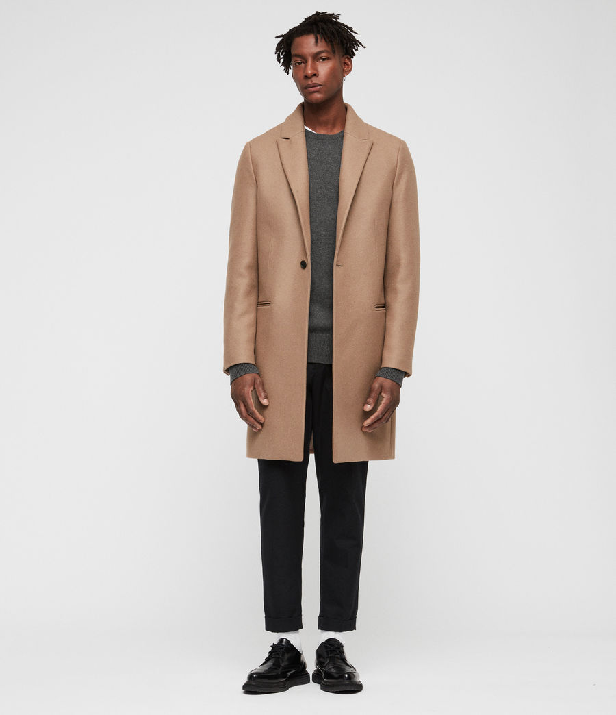 Men's Tulsen Coat (camel_brown) - Image 1