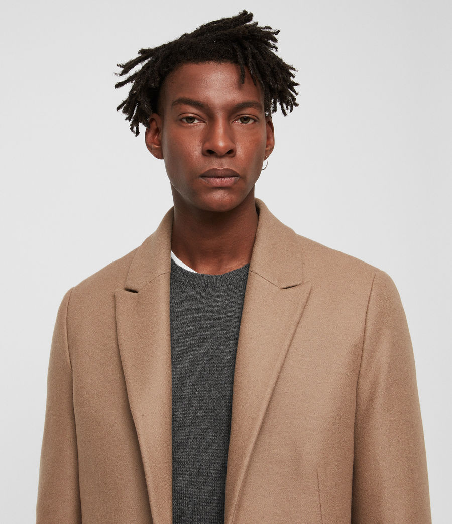 Men's Tulsen Coat (camel_brown) - Image 2