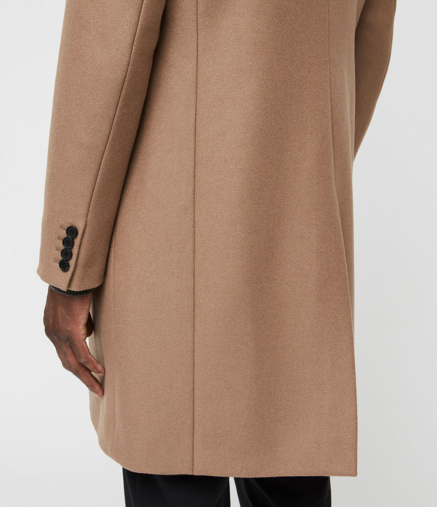 Men's Tulsen Coat (camel_brown) - Image 3
