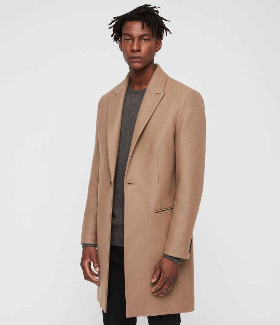 Men's Tulsen Coat (camel_brown) - Image 4