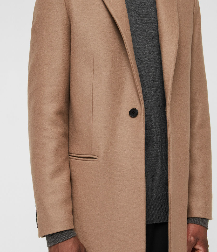 Men's Tulsen Coat (camel_brown) - Image 5