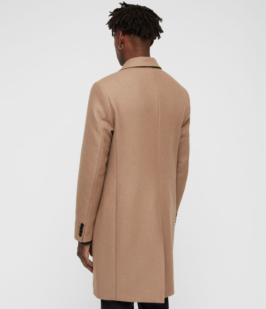 Men's Tulsen Coat (camel_brown) - Image 6
