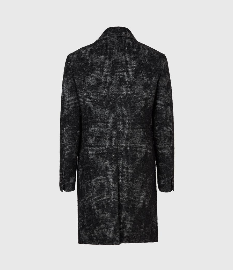 Mens Bisp Wool Blend Coat (charcoal) - Image 3