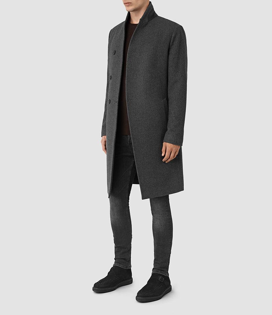 Mens Olson Coat (grey) - Image 2