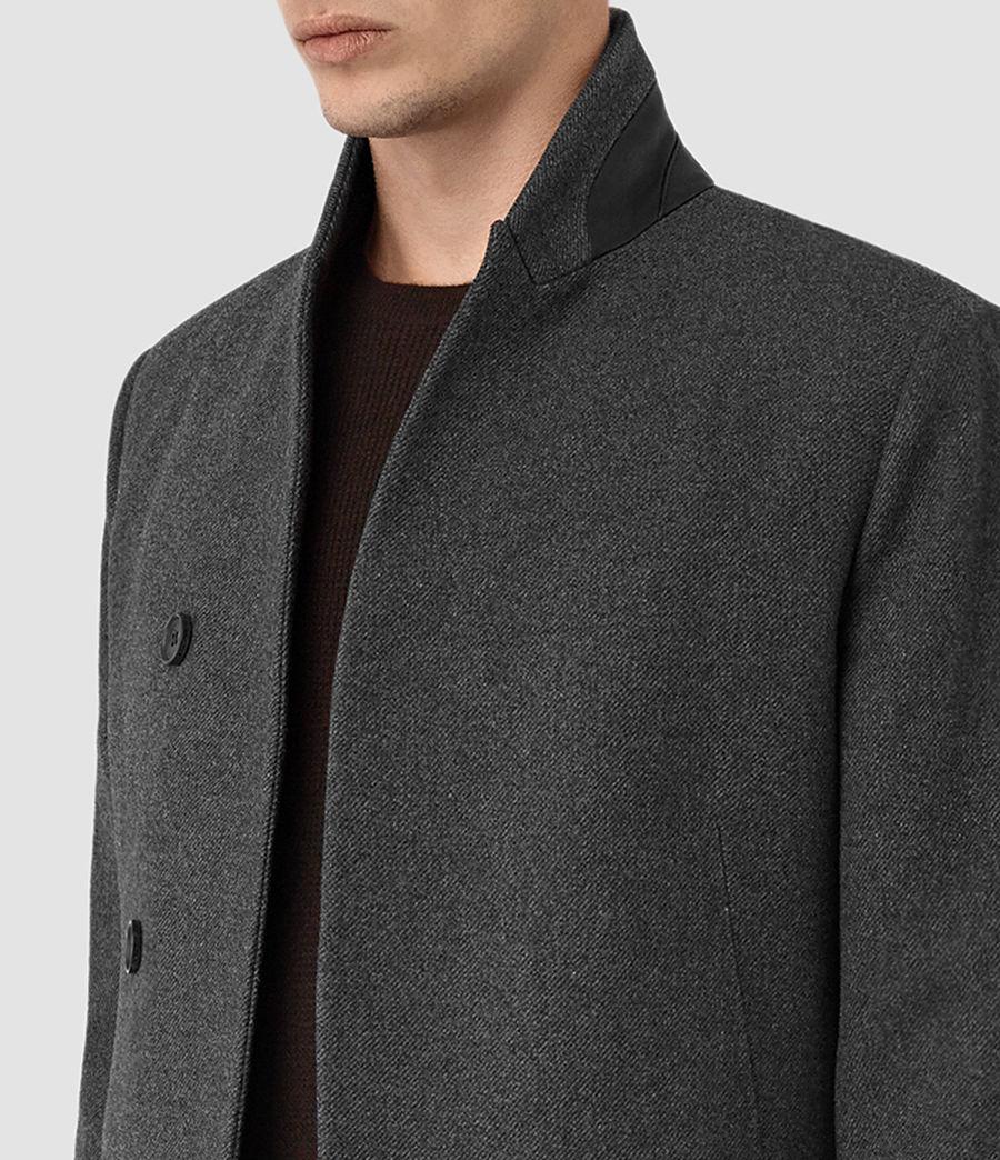 Mens Olson Coat (grey) - Image 3