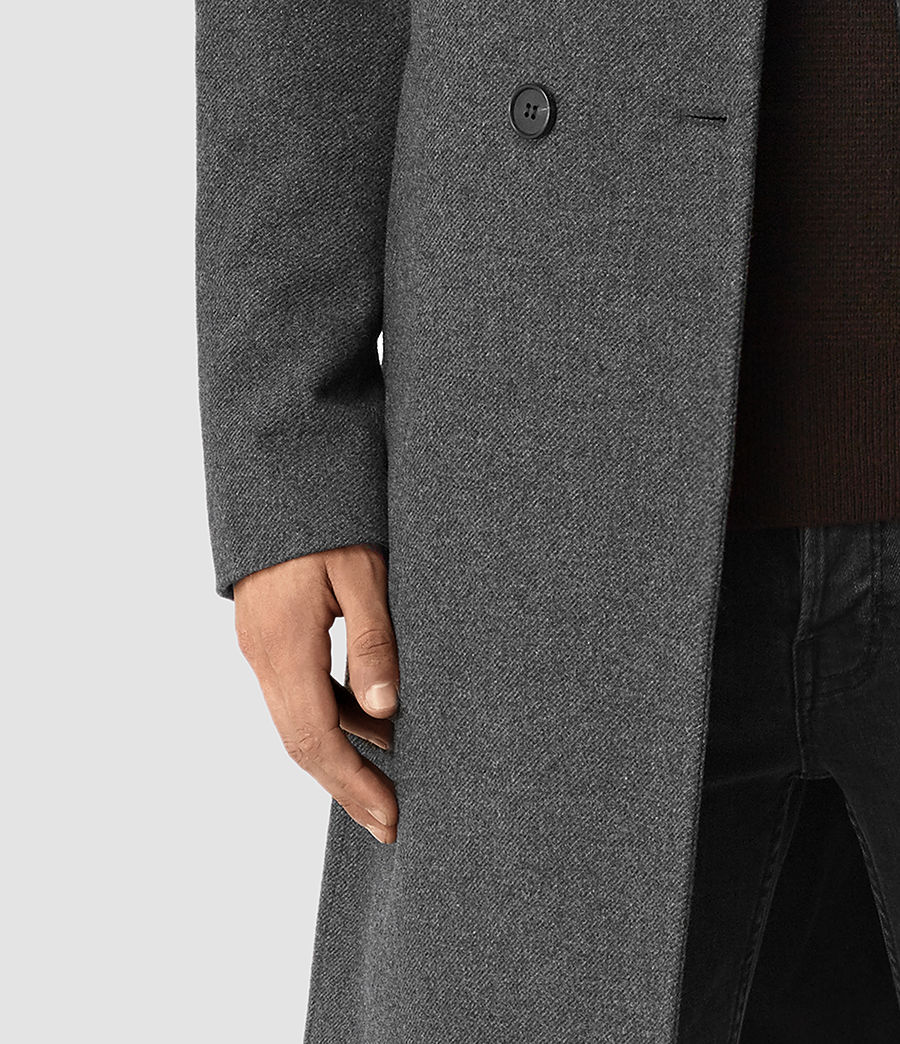Mens Olson Coat (grey) - Image 4