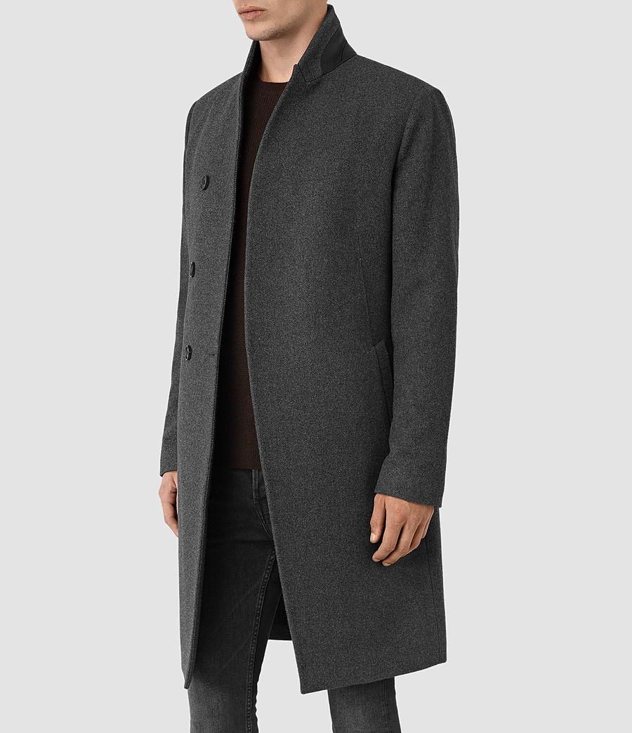 Mens Olson Coat (grey) - Image 5