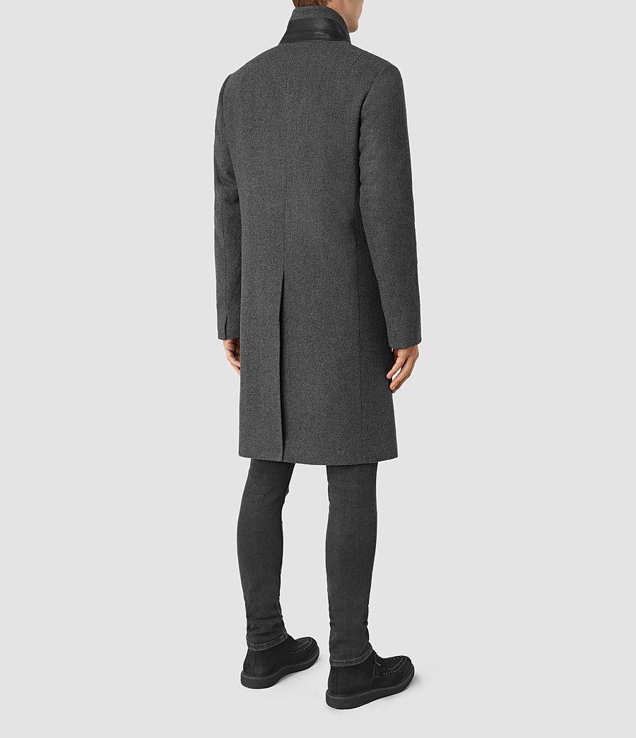Mens Olson Coat (grey) - Image 6