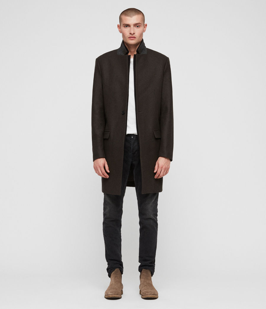 Men's Jarvus Coat (khaki_green) - Image 1