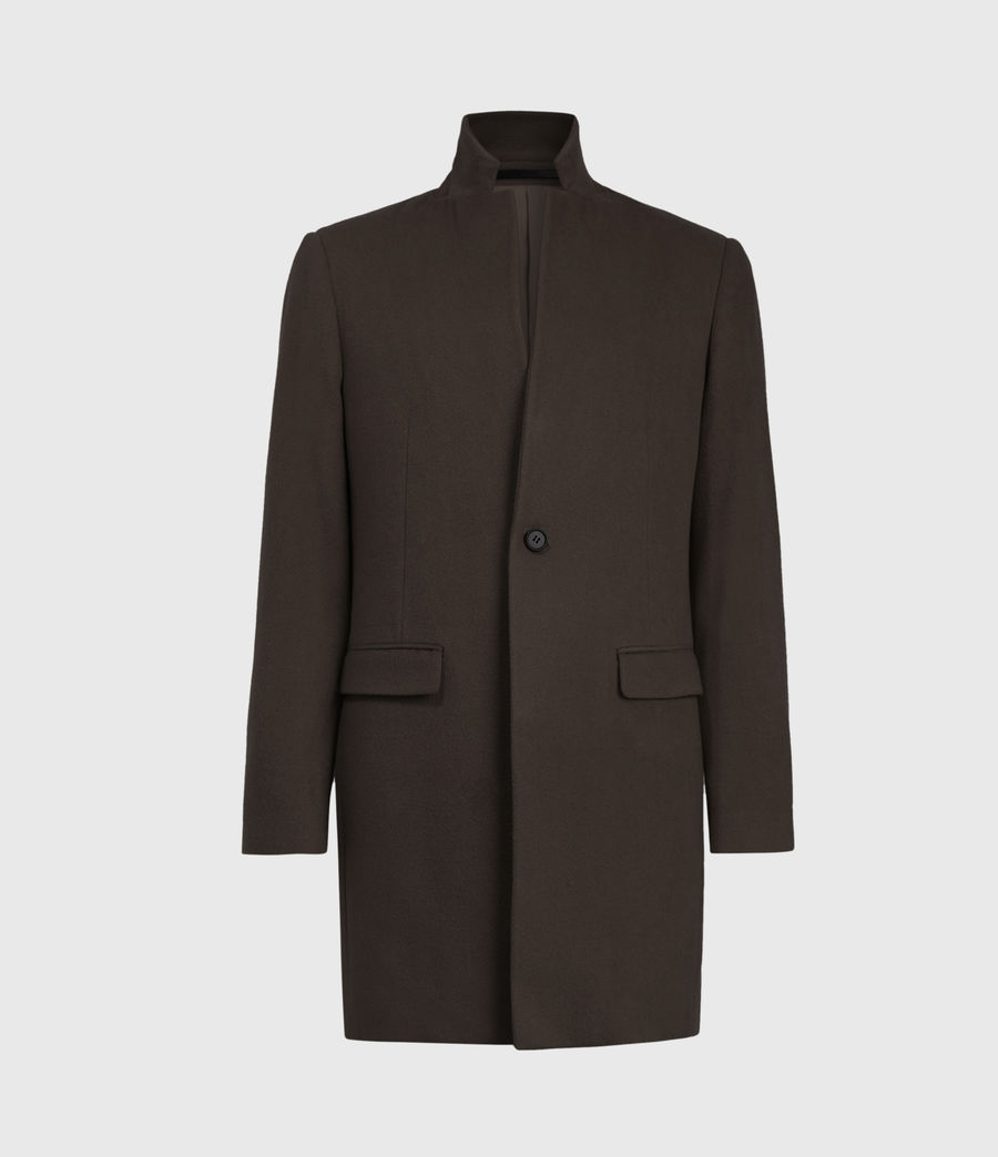 Herren Manor Wool Coat (earth_brown) - Image 2