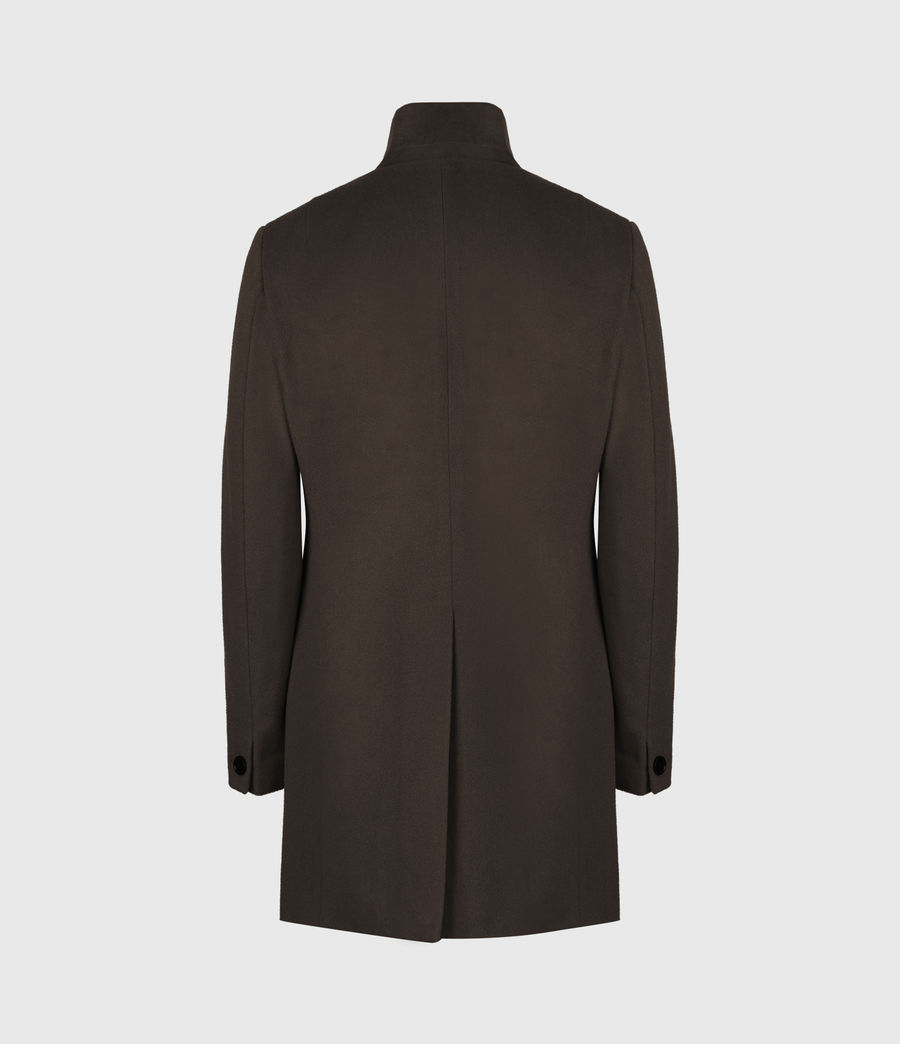 Herren Manor Wool Coat (earth_brown) - Image 3