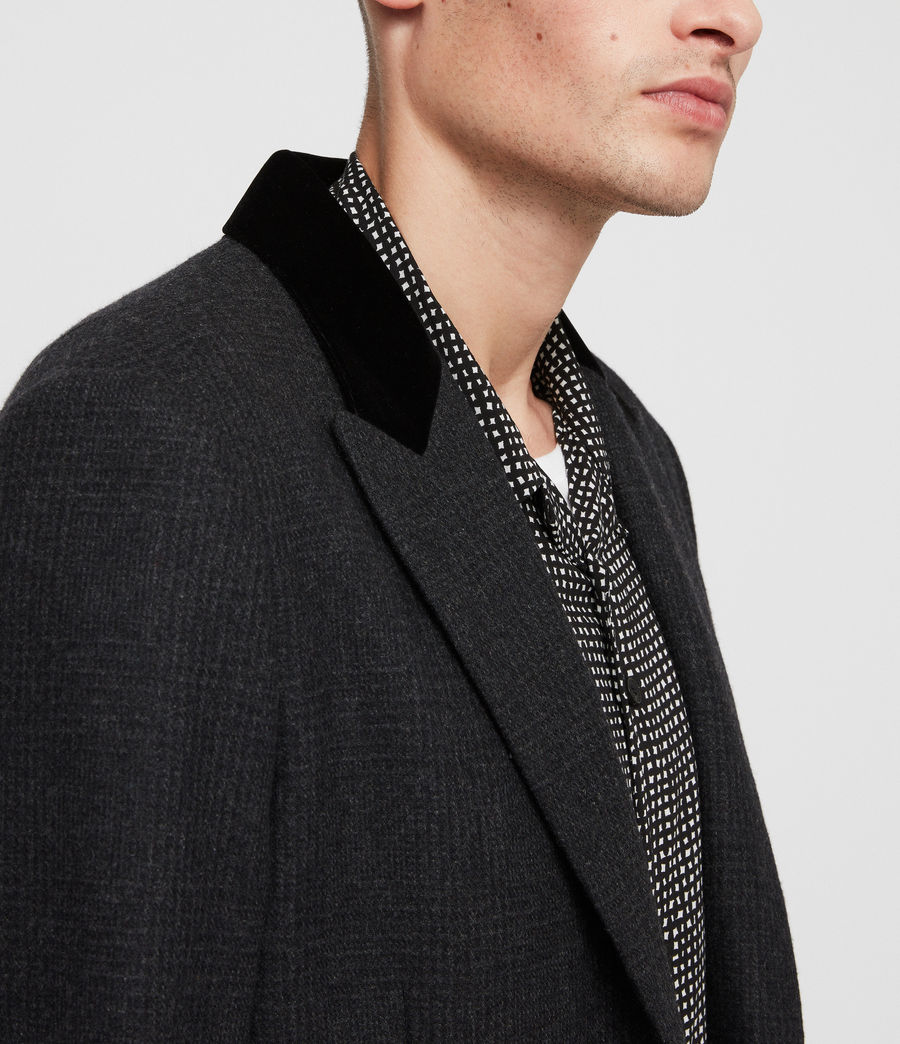 Mens Farago Coat (charcoal_grey) - Image 2