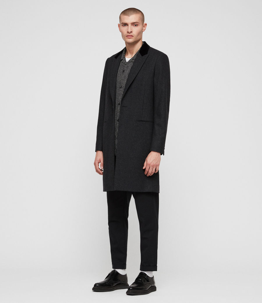Mens Farago Coat (charcoal_grey) - Image 3
