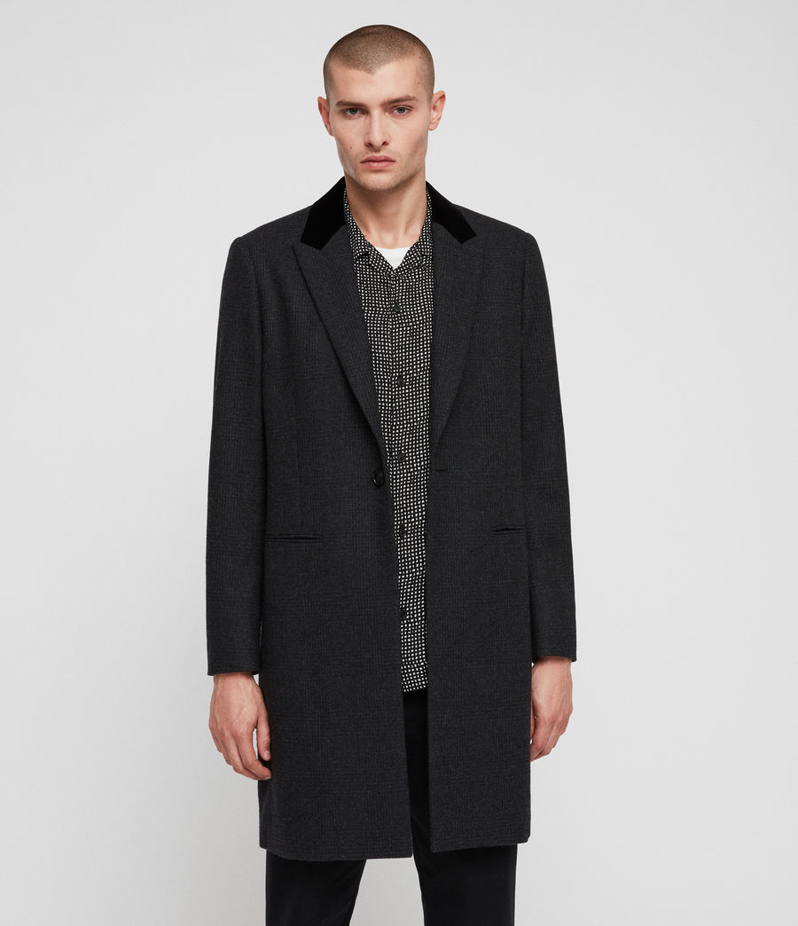 Mens Farago Coat (charcoal_grey) - Image 4