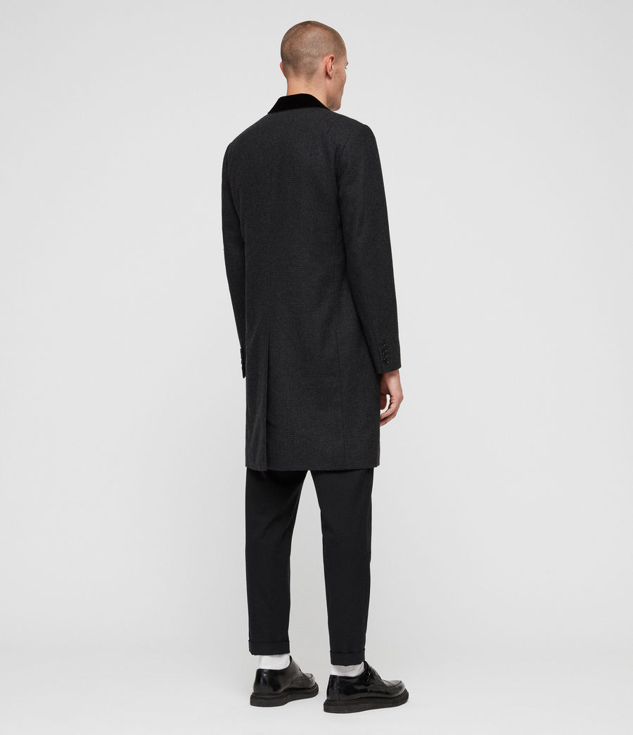 Mens Farago Coat (charcoal_grey) - Image 5