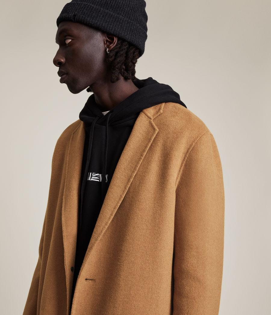 Men's Hanson Wool Blend Coat (tabacco) - Image 2