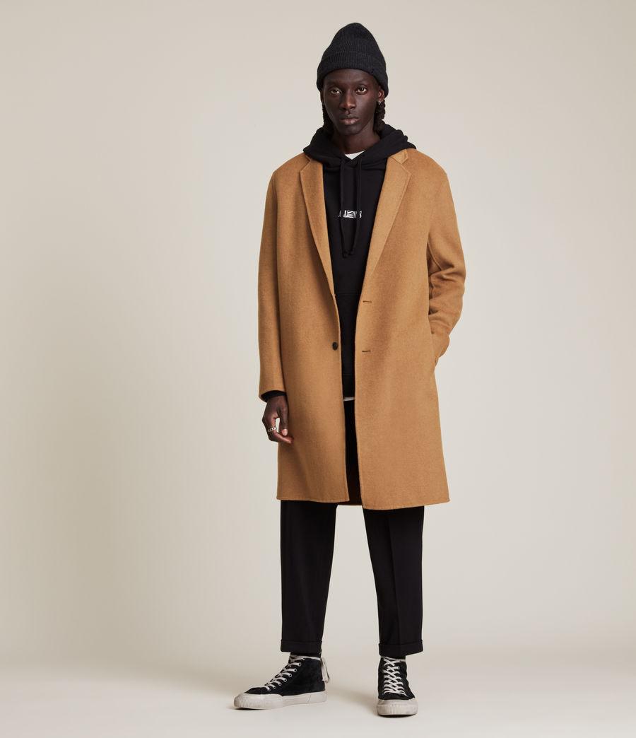 Men's Hanson Wool Blend Coat (tabacco) - Image 3