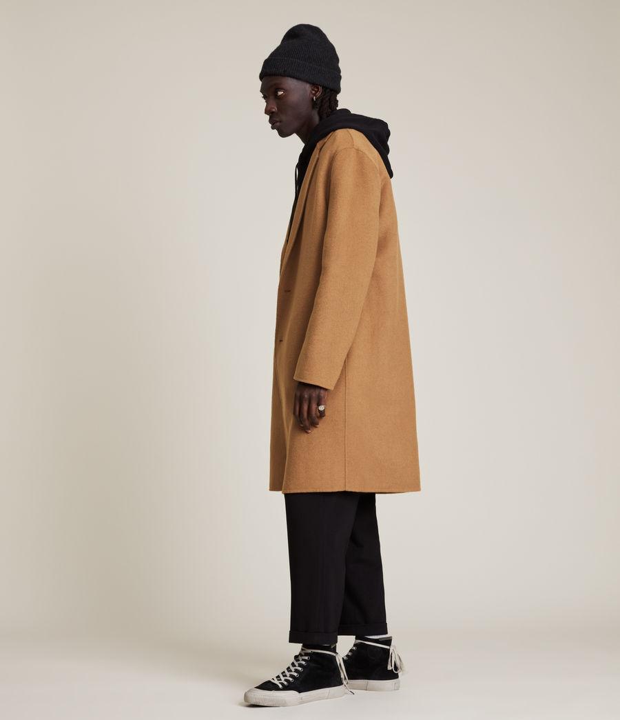 Men's Hanson Wool Blend Coat (tabacco) - Image 4