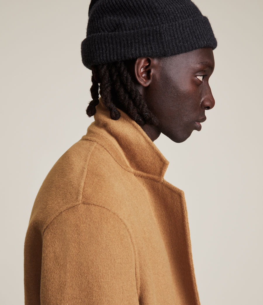 Men's Hanson Wool Blend Coat (tabacco) - Image 5