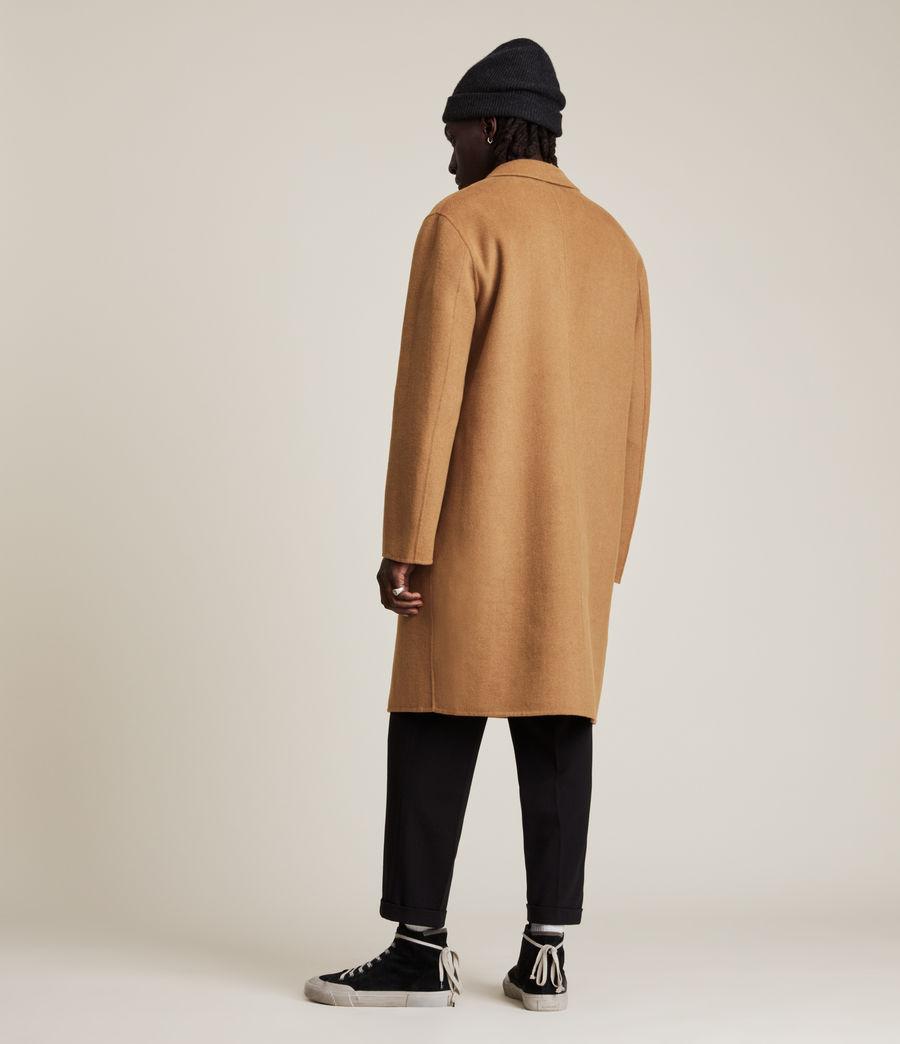 Men's Hanson Wool Blend Coat (tabacco) - Image 6