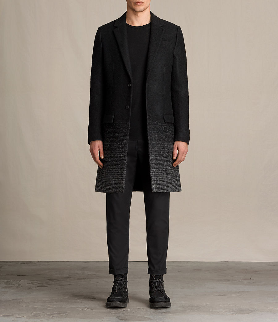 Mens Bodin Coat (black_charcoal) - Image 1