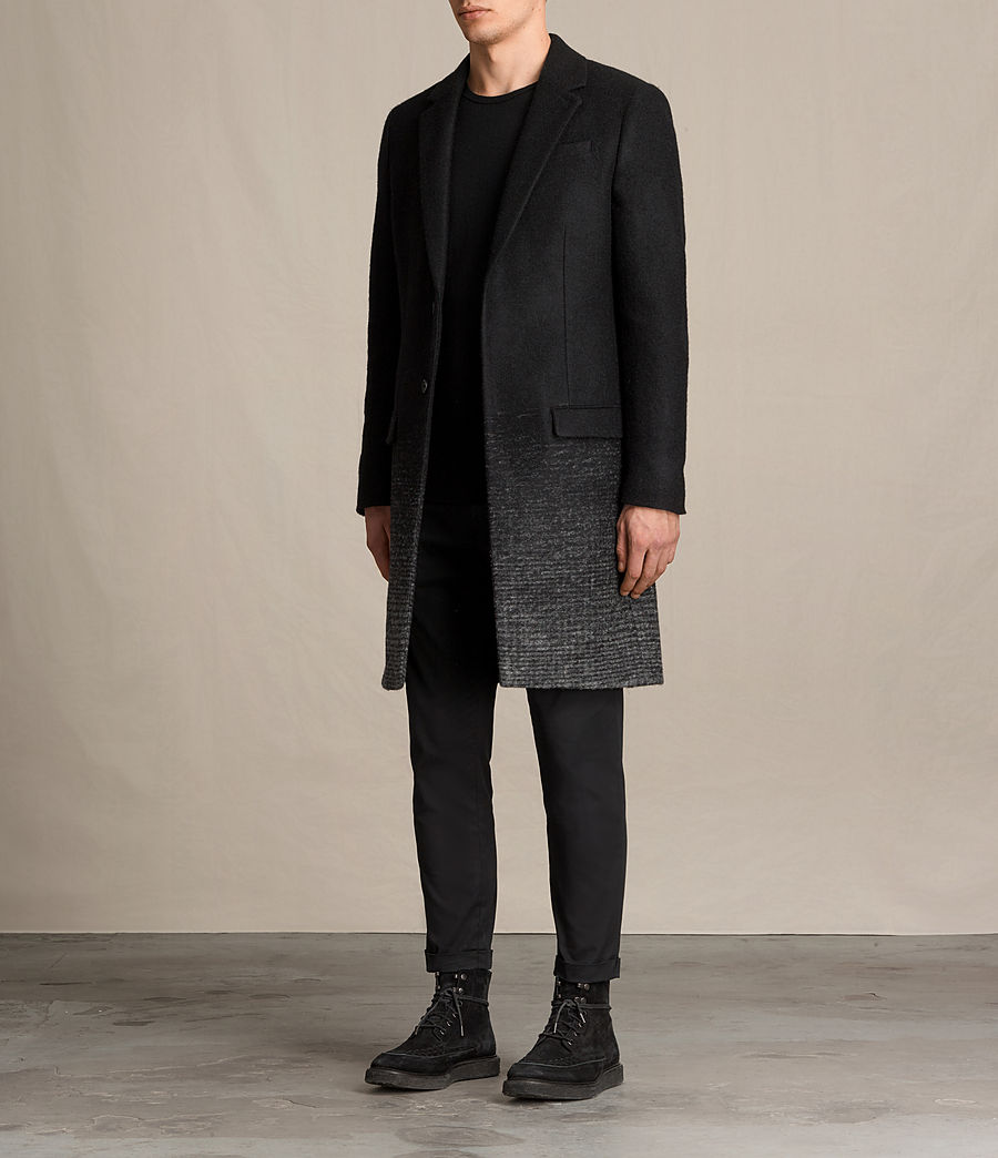 Mens Bodin Coat (black_charcoal) - Image 3