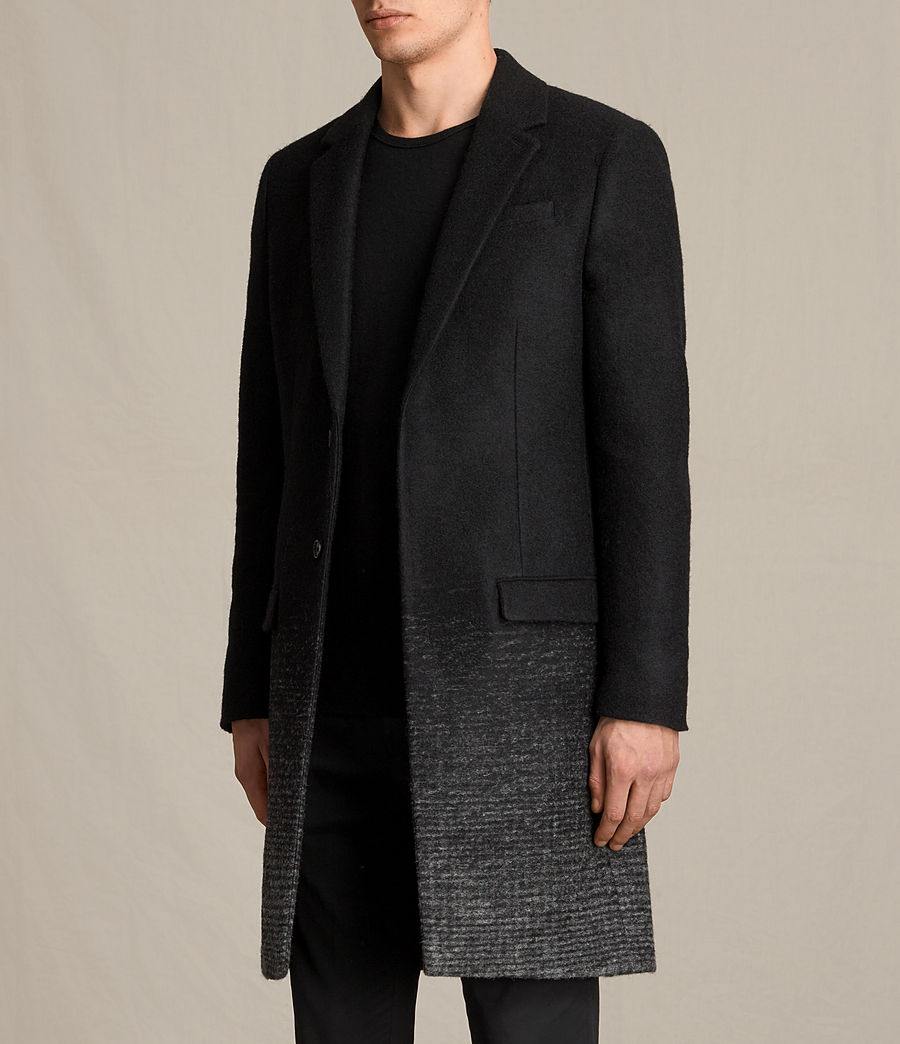 Mens Bodin Coat (black_charcoal) - Image 4