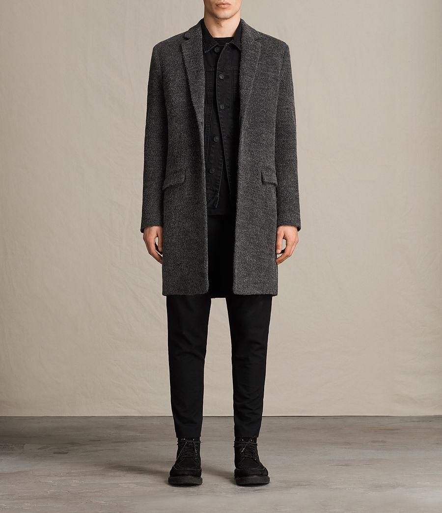 Hombres Abrigo Abel (dark_grey) - Image 1