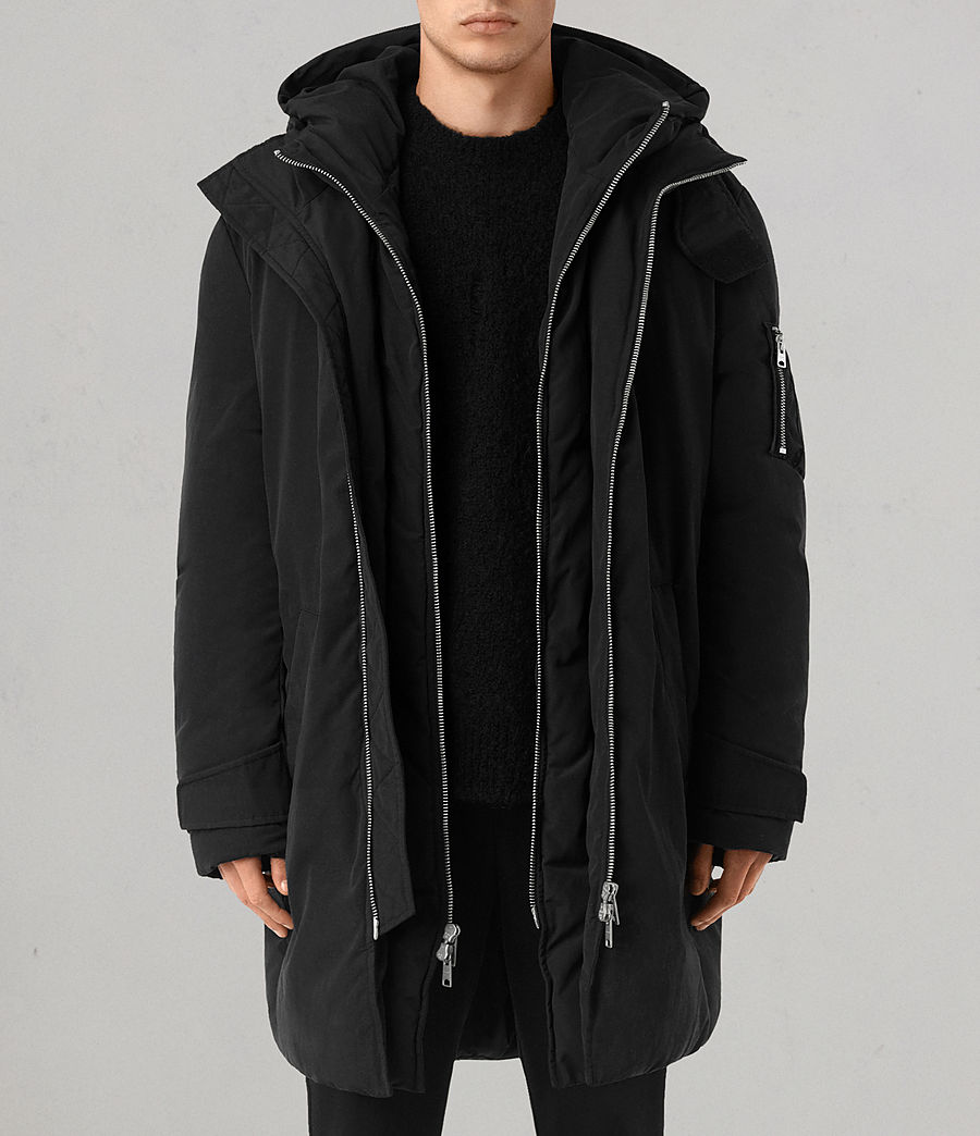 Mens Shields Parka (black) - Image 1