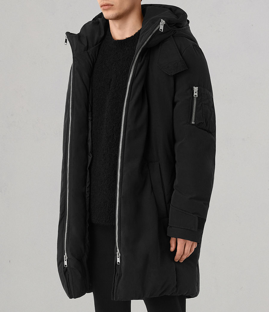 Mens Shields Parka (black) - Image 3
