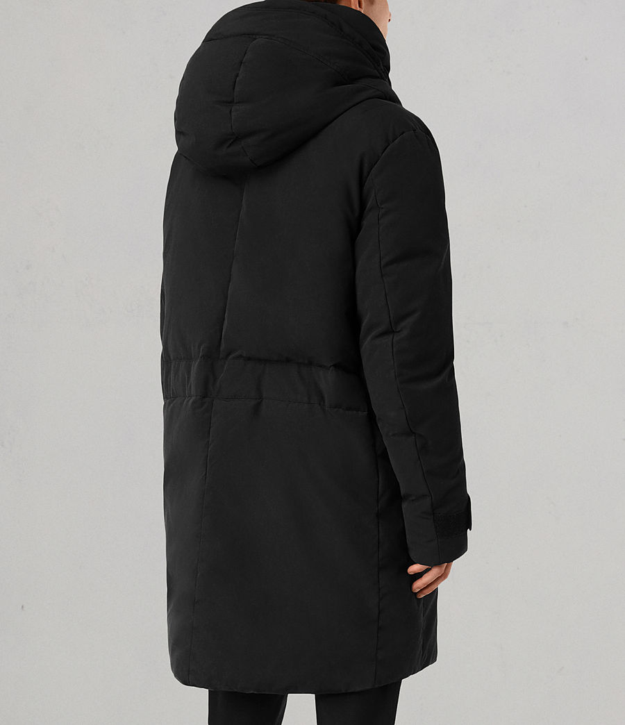 Mens Shields Parka (black) - Image 4